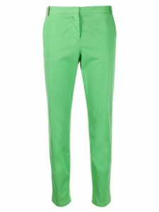 Fabiana Filippi mid-rise cropped trousers - Green