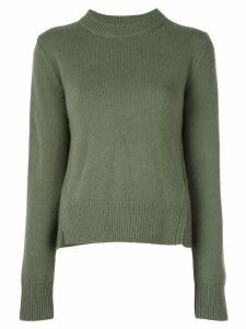 Tibi crew neck jumper - Green