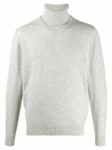 Chalayan signature split neck sweater - Grey