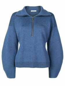 Tibi sculpted sweatshirt - Blue