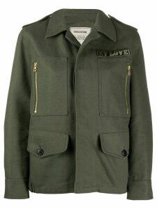 Zadig & Voltaire Kode military jacket - Green