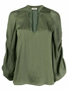 Zadig & Voltaire Twenty loose-fit blouse - Green