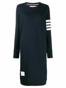 Thom Browne 4-Bar jumper-style midi dress - Blue