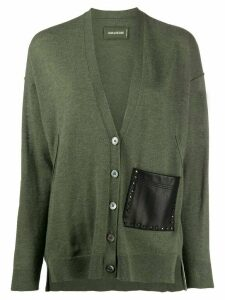Zadig & Voltaire Scarlett one-pocket cardigan - Green