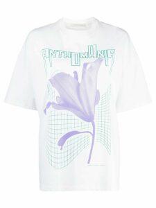 Christopher Kane Anthomania print T-shirt - White