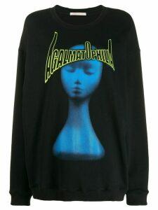 Christopher Kane Agalmatophilia print sweatshirt - Black