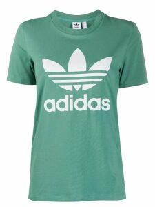 adidas logo print T-shirt - Green