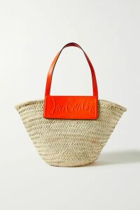 Victoria, Victoria Beckham - Leather-trimmed Suede Shirt - Blue