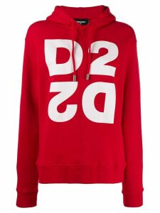 Dsquared2 monogram hooded sweatshirt