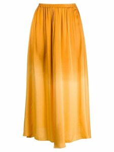 Forte Forte pleated high-rise skirt - GOLD