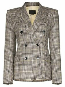 Isabel Marant Celeigh double-breasted blazer - Grey