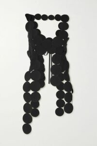 McQ Alexander McQueen - Pointelle-knit And Chenille Top - Yellow