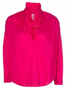 A Shirt Thing ruffled collar blouse - PINK