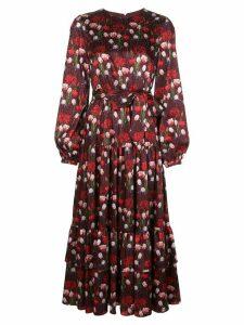 Borgo De Nor floral tiered dress