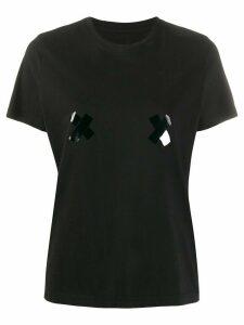 Marc Jacobs x print T-shirt - Black