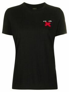 Diesel Ufty-Sily print T-shirt - Black