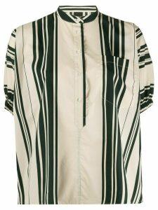 Aspesi striped tunic top - NEUTRALS