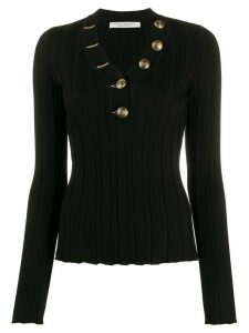 Philosophy Di Lorenzo Serafini ribbed button-embellished jumper -