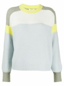 Rag & Bone colour block jumper - Blue