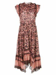 Ulla Johnson Amalia floral print dress - Red