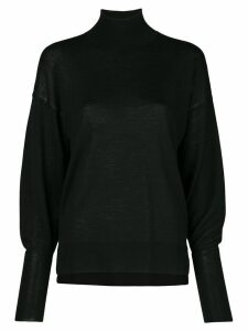 Jonathan Simkhai backless turtle-neck jumper - Black
