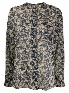 Isabel Marant Étoile Mexika floral-print cotton shirt - Blue