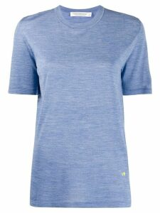 Victoria Beckham short-sleeved T-shirt - Blue