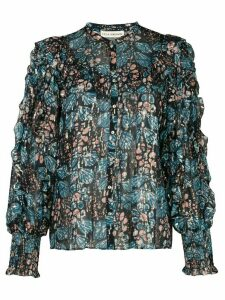 Ulla Johnson Isadora georgette blouse - Blue