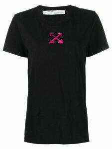 Off-White paint-effect arrows T-shirt - Black