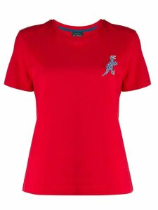 PS Paul Smith dino print round neck T-shirt - Red