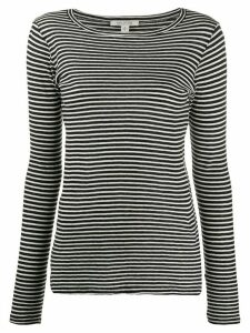 Nili Lotan striped jersey top - Black
