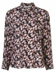 Vince floral shirt - Black