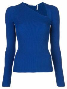 Helmut Lang asymmetric top - Blue