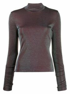 M Missoni two-tone lurex jumper - Blue