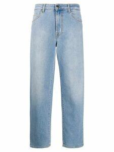 Pinko cropped boyfriend jeans - Blue