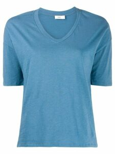 Closed basic v-neck T-shirt - Blue