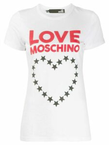 Love Moschino logo-print T-shirt - White