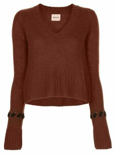 Khaite knitted top - Brown