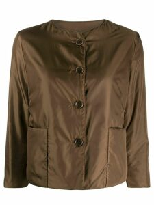 Aspesi cropped padded jacket - Brown