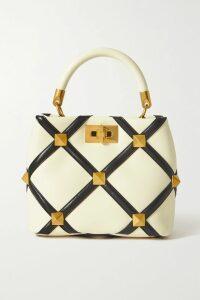 Marchesa Notte - Strapless Bow-embellished Satin-piqué Gown - Fuchsia