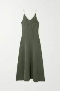 Ulla Johnson - Sade Plissé-satin Top - Pastel pink