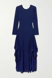 STAUD - Luna Ruffled Cotton-blend Poplin Blouse - Pastel yellow