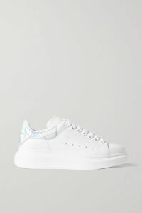 Miu Miu - Striped Cotton-blend Jersey Track Jacket - Black