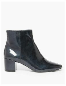 M&S Collection Block Heel Ankle Boots