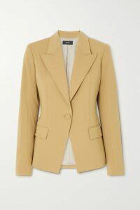 APIECE APART - Va Bene Ruffled Cotton-crepon Dress - Royal blue