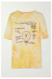 Wales Bonner - Printed Cotton-jersey T-shirt - Yellow