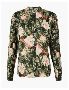 Per Una Floral Print Relaxed Fit Blouse