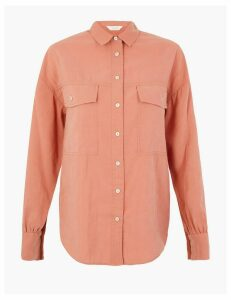 Per Una Utility Long Sleeve Shirt