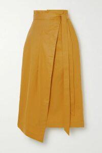Sara Battaglia - Checked Cotton-blend Tweed Jacket - Navy