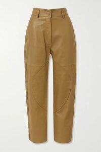Peter Pilotto - Floral-print Cotton-poplin Top - Pink